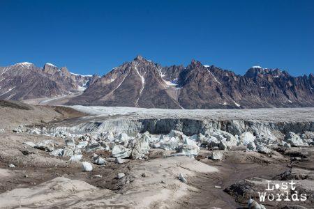 Le glacier Apusinikajik (Photo Yann Bigant / Naturevolution)