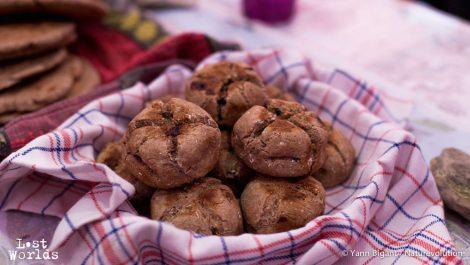 Les petits pains providentiels d'Olive fourrés au chocolat